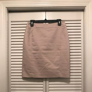 Khaki H&M Pencil Skirt